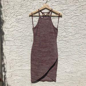Spacedye bodycon dress